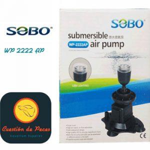 AIREADOR SUMERGIBLE SOBO WP-2222AP – Con luz led – 6W