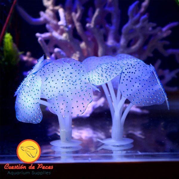 Coral Silicona Fluorescente x 2 unid ¡Excelentes!