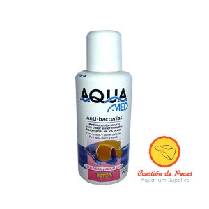 Anti bacterias para acuario AQUAMED x 125 cc