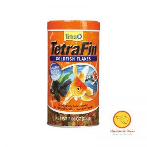 Alimento Peces Agua Fría en Escamas 200grs TetraFin Goldfish Flakes