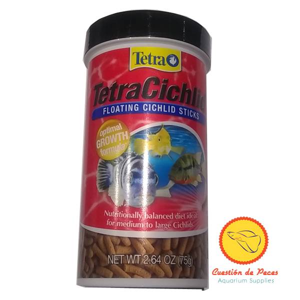 Cuesti n de peces alimento ciclidos tetra cichlid sticks for Tetra cichlid sticks