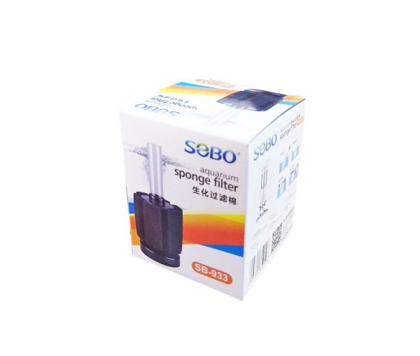 Filtro Esponja Mini Circular SOBO SB-933 Ideal Crías