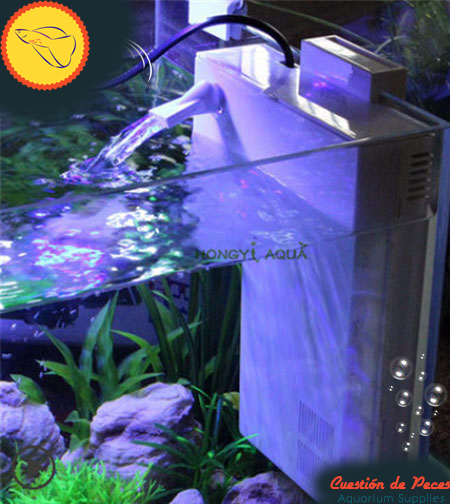 Kit Equipamiento Acuario 80 litros Interno Slim