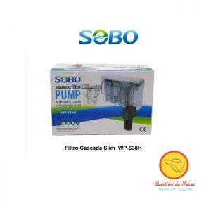 Filtro Mochila Cascada Slim Sobo WP-638H 680l/h Ultra delgado!