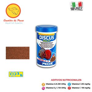 Alimento  Peces – Prodac  DISCUS QUALITY 90 grs