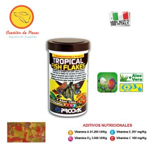 Alimento para Peces – Prodac  TROPICAL FISH FLAKES 200grs