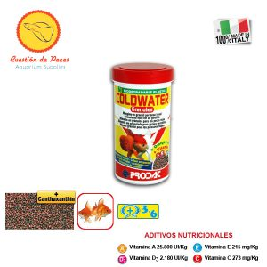 Alimento  Peces – Prodac  COLDWATER Granules 100grs