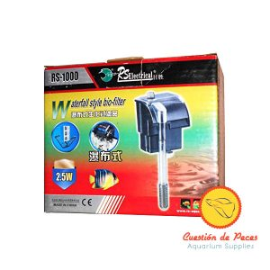 Filtro Mochila Cascada RS-1000 600 L/H