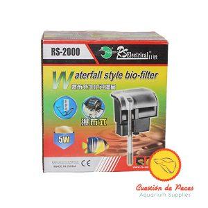 Filtro Mochila Cascada RS-2000 800 L/H