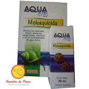 Molusquicida Acuario AQUA-MED Elimina Planarias