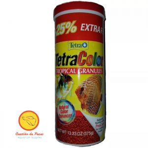 Alimento Peces  Tetra Color  Tropical Granules 300 gr