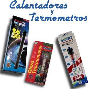 Calefactores y Termómetros